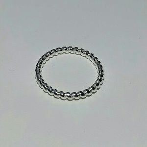 Jewelry - 925SS Twisted Stackable Ring Size 7